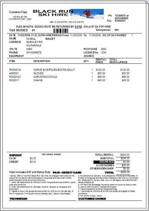 cash sale invoice template – neverage, Invoice templates